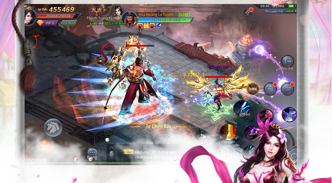 Cửu Thiên Mobile – game nhập vai phong thần ra mắt trang chủ