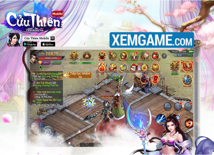 Cửu Thiên Mobile | XEMGAME.COM