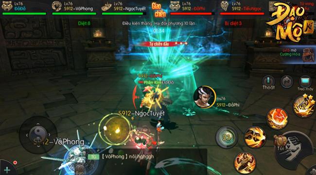 Đạo Mộ Ký Mobile mang đến những điểm mới mẻ cho dòng game MMORPG
