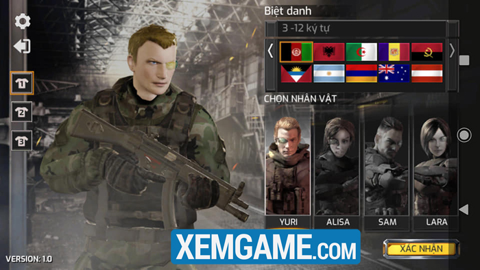 Project War Mobile | XEMGAME.COM