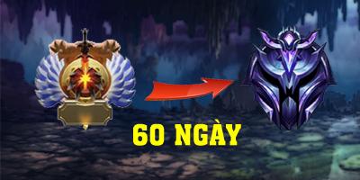 LMHT: Cao thủ Dota2 gây sốc khi cán mốc Kim Cương sau 60 ngày