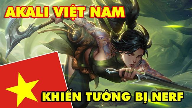 Boy One Champ AKALI Việt Nam góp phần khiến Akali bị nerf thảm trong LMHT