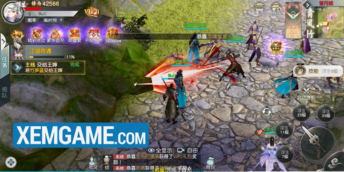 Lãng Tử Kiếm Mobile   XEMGAME.COM