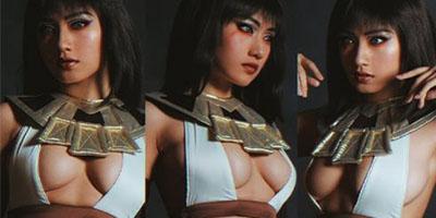 Lord Mobile: Ngẩn ngơ với cosplay Cleopatra quyến rũ đầy quyền lực