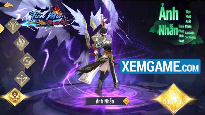 Tiên Ma Truyền Kỳ   XEMGAME.COM