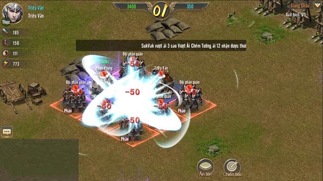 Vương Triều Tranh Bá sở hữu lối chơi SLG tiêu chuẩn nhưng vẫn có những đột phá riêng