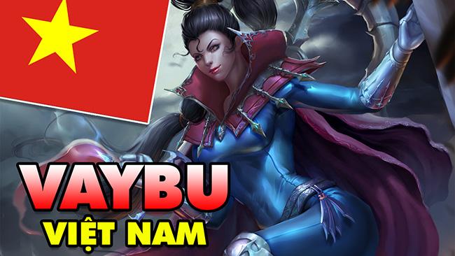 """Boy One Champ """"VAYBU"""" Việt Nam cân mọi thể loại trong Liên Minh Huyền Thoại"""