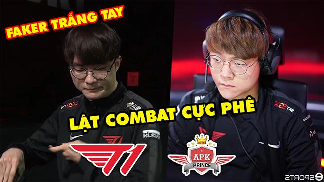 [LCK 2020] SKT lật combat như lật bánh tráng trước lính mới, Faker trắng tay   Highlight T1 vs APK
