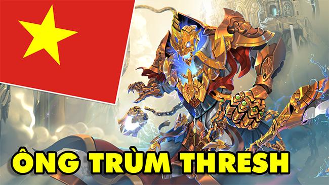 """Boy One Champ """"Ông Trùm Thresh"""" Việt Nam minh chứng Thresh luôn là hỗ trợ số 1 LMHT"""