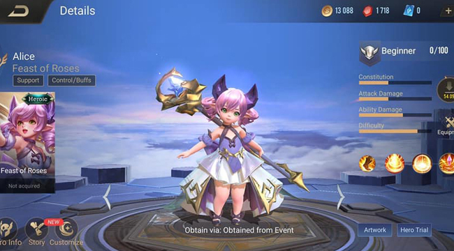 Garena ra mắt event cho phép game thủ lựa chọn phần quà kế tiếp trong Liên Quân Mobile