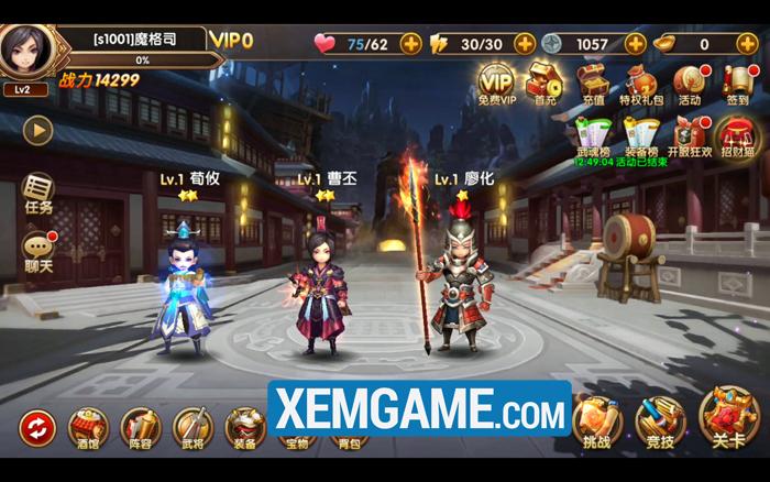 Tam Quốc Tốc Chiến | XEMGAME.COM