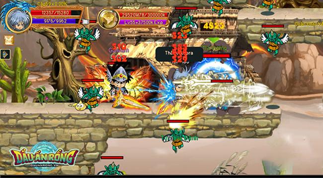 Trải nghiệm dự án game siêu hot Dấu Ấn Rồng Mobile trước ngày ra mắt