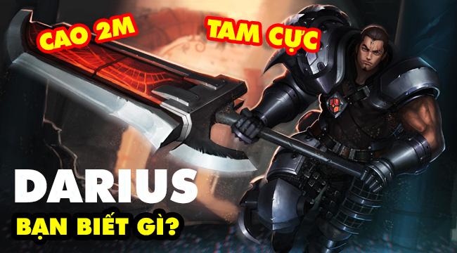 Tất tần tật những điều thú vị về Darius mà bạn có thể không biết trong LMHT