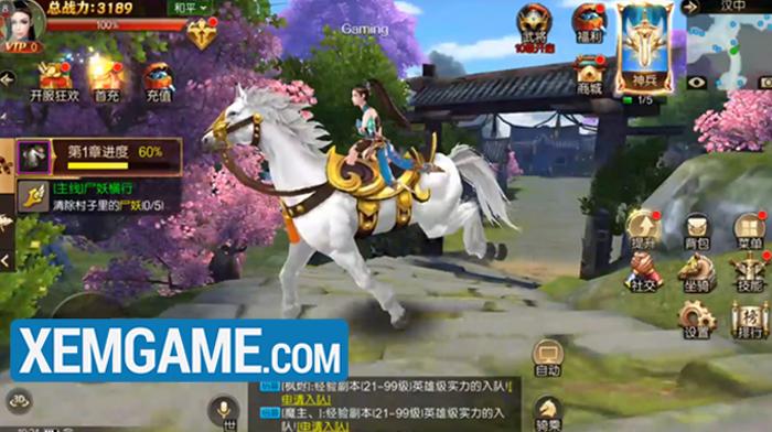Chiến Thần 3D   XEMGAME.COM