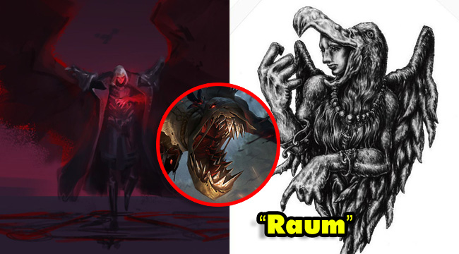 """LMHT: Fiddlesticks làm lại gọi Swain là Raum – """"Quỷ quạ"""" đầy quyền lực"""