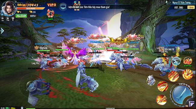 Âm Dương Kiếm nóng bỏng tay trong ngày ra mắt, 50.000 người đổ xô vào trải nghiệm game