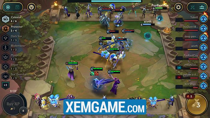Đấu Trường Chân Lý Mobile   XEMGAME.COM
