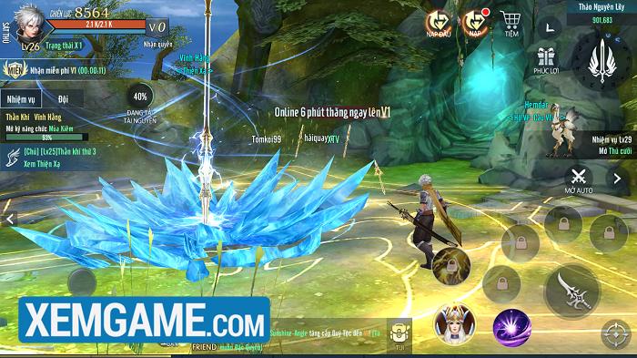 Vệ Thần Mobile | XEMGAME.COM