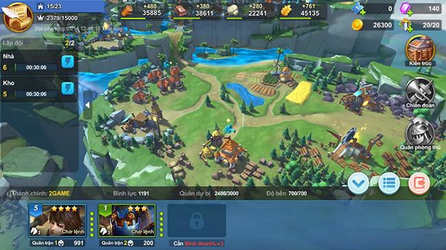 Trải nghiệm Heroes of Ages: Game chiến thuật cuốn hút với đồ họa dễ nhìn