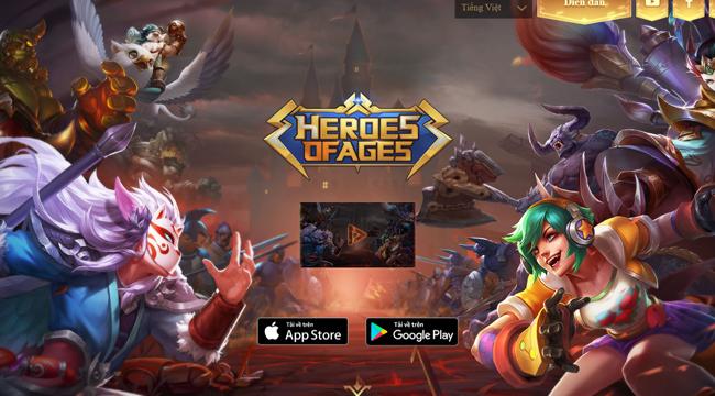VTC Game sẽ phát hành game chiến thuật Heroes of Ages tại Việt Nam