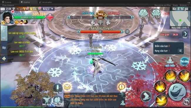 Game thủ Nhất Kiếm Giang Hồ sẽ tha hồ tranh đua trong các chiến trường Bang Chiến Liên Server