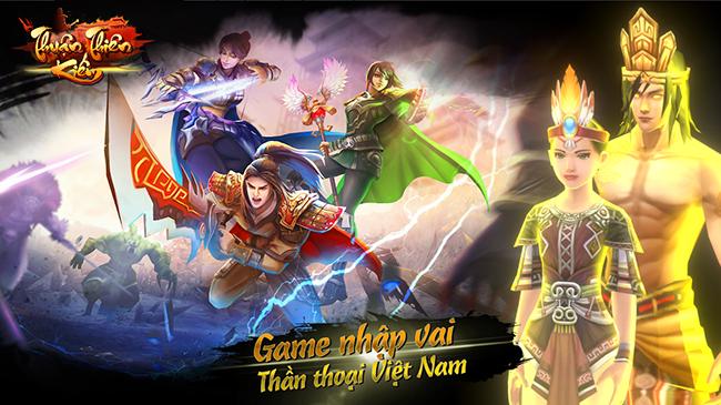 Thuận Thiên Kiếm Mobile – cả một vũ trụ truyện cổ tích Việt Nam thể hiện game