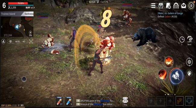 Rappelz M SEA – tựa game chặt chém đã tay với nhiều mức đồ họa tùy chọn khác nhau