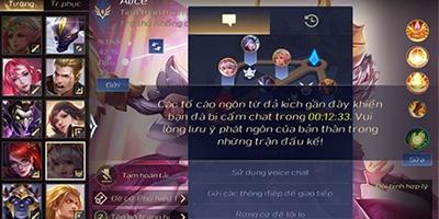 Liên Quân Mobile: Tính năng lọc chat lỗi be bét, game thủ phẫn nộ rate 1* trên ứng dụng
