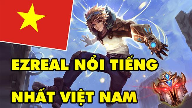 LMHT: BOY ONE CHAMP EZREAL nổi tiếng nhất server Việt Nam, Top 100 Thách Đấu