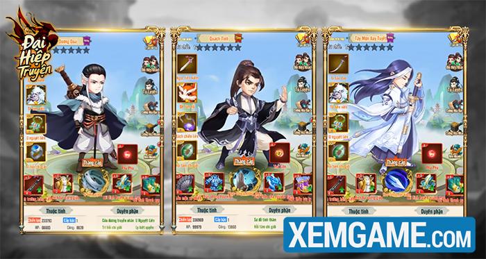 Đại Hiệp Truyện | XEMGAME.COM