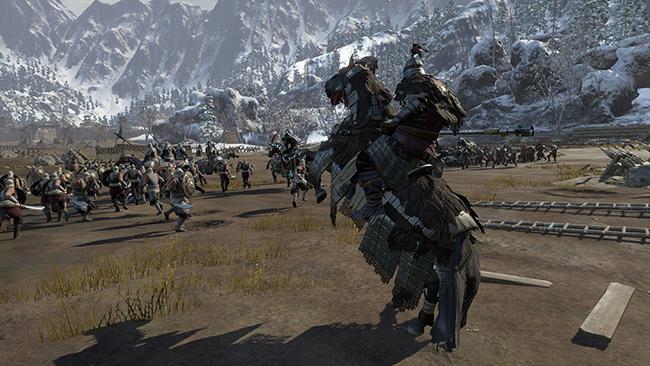 Conqueror's Blade là cuộc chiến của hàng ngàn binh sĩ trên chiến trường với nhau