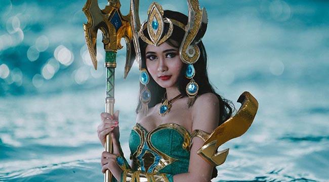 Ngắm nhìn vẻ đẹp kiều diễm của Nữ Thần Biển Cả Kadita trong cosplay Mobile Legend: Bang Bang