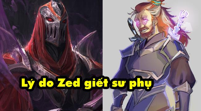 Riot lần đầu hé lộ nguyên nhân Zed giết chết sư phụ Kusho – Tên thầy man rợ nhất LMHT