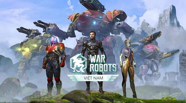 Game War Robots đã được thương thảo mua về Việt Nam thành công