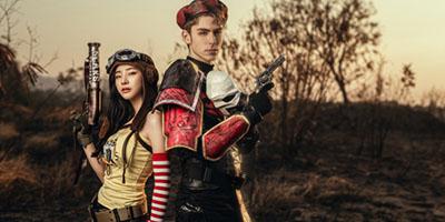 PUBG Mobile: Cosplay tình nhân xạ thủ đầy lãng mạn và hùng tráng