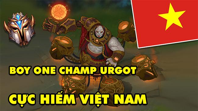 LMHT: Boy One Champ Urgot hiếm hoi của Việt Nam – Mãn nhãn với những màn 1vs3, 1vs5 rank Thách Đấu