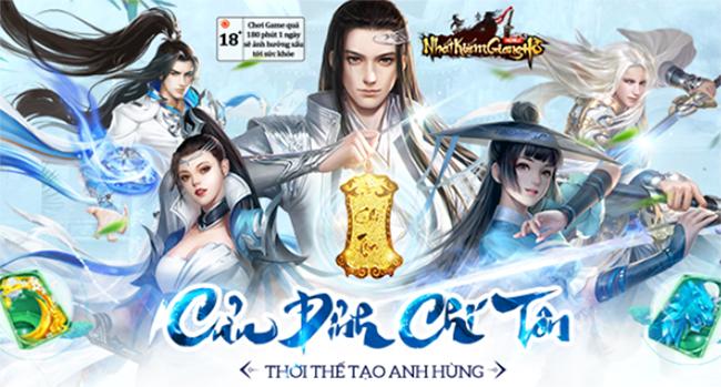 Nhất Kiếm Giang Hồ – Khẳng định đẳng cấp hàng đầu trong dòng game kiếm hiệp