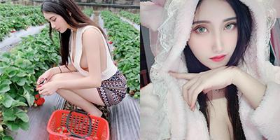 Nhan sắc nuột nà của hot girl hái dâu mang dòng máu Đài Loan – Hà Lan