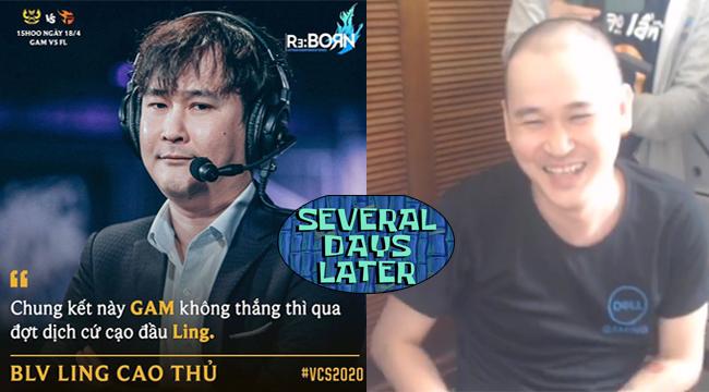 LMHT: Nói là làm, Ling Cao Thủ xuống tóc ngay để trả kèo Team Flash vô địch
