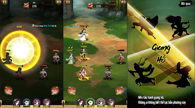 Đại Hiệp Truyện : game đấu thẻ tướng phù hợp với mọi fan của kiếm hiệp