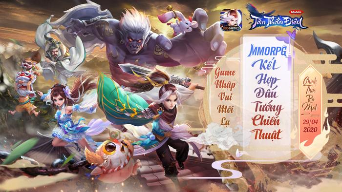 Cảm nhận Tân Thần Điêu VNG : game nhập vai đấu tướng thế hệ mới là đây