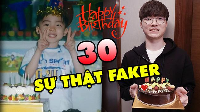 TOP 30 sự thật ít ai biết về Quỷ Vương Faker trong ngày sinh nhật tròn 25 nồi bánh chưng