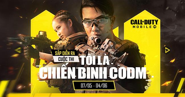"""Call of Duty: Mobile VN khởi động cuộc thi """"Tôi là chiến binh CODM"""" với nhiều phần quà hấp dẫn"""