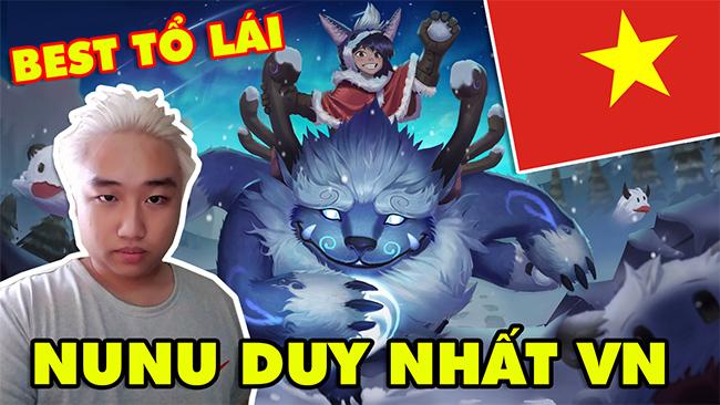LMHT: Boy One Champ Nunu duy nhất Việt Nam – Siêu tổ lái cực gắt 1.000.000 thông thạo