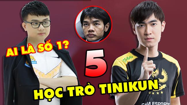 TOP 5 học trò tài năng và đắt giá nhất của HLV Tinikun: SofM, Levi, Zeros…