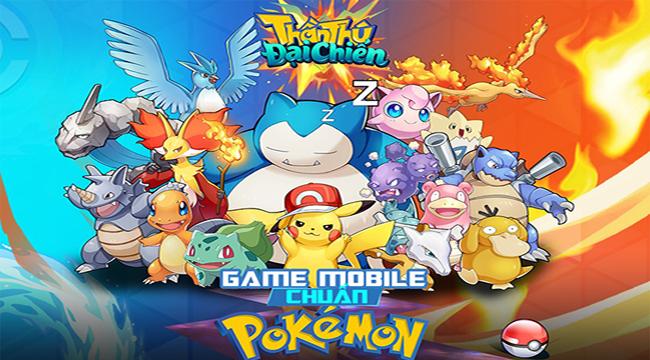 Thần Thú 3D Mobile – game chuẩn Pokemon đã được mua về Việt Nam thành công