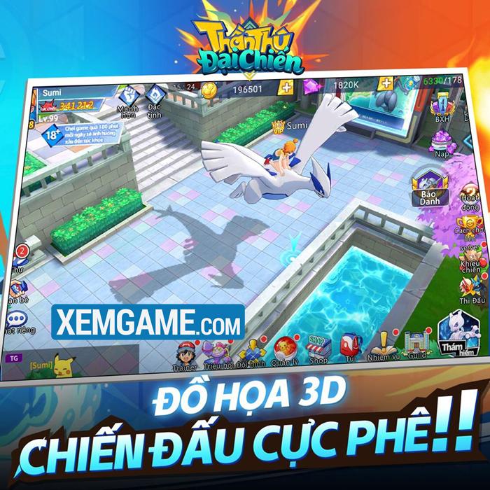 Thần Thú 3D | XEMGAME.COM