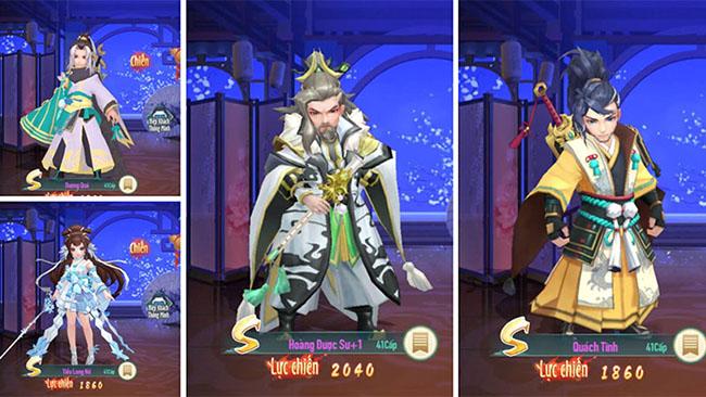 Tổng quan 4 nhóm hiệp khách điển hình trong Tân Thần Điêu VNG