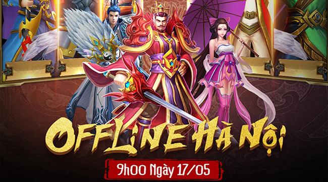 Hậu Alpha Test, Tuyệt Đỉnh Tam Quốc tổ chức Mini Offline tại Hà Nội dành cho cộng đồng game thủ
