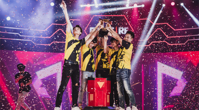 Free Fire: Vượt qua Team Flash, V Gaming trở thành nhà vô địch Đấu Trường Sinh Tồn Mùa Xuân 2020